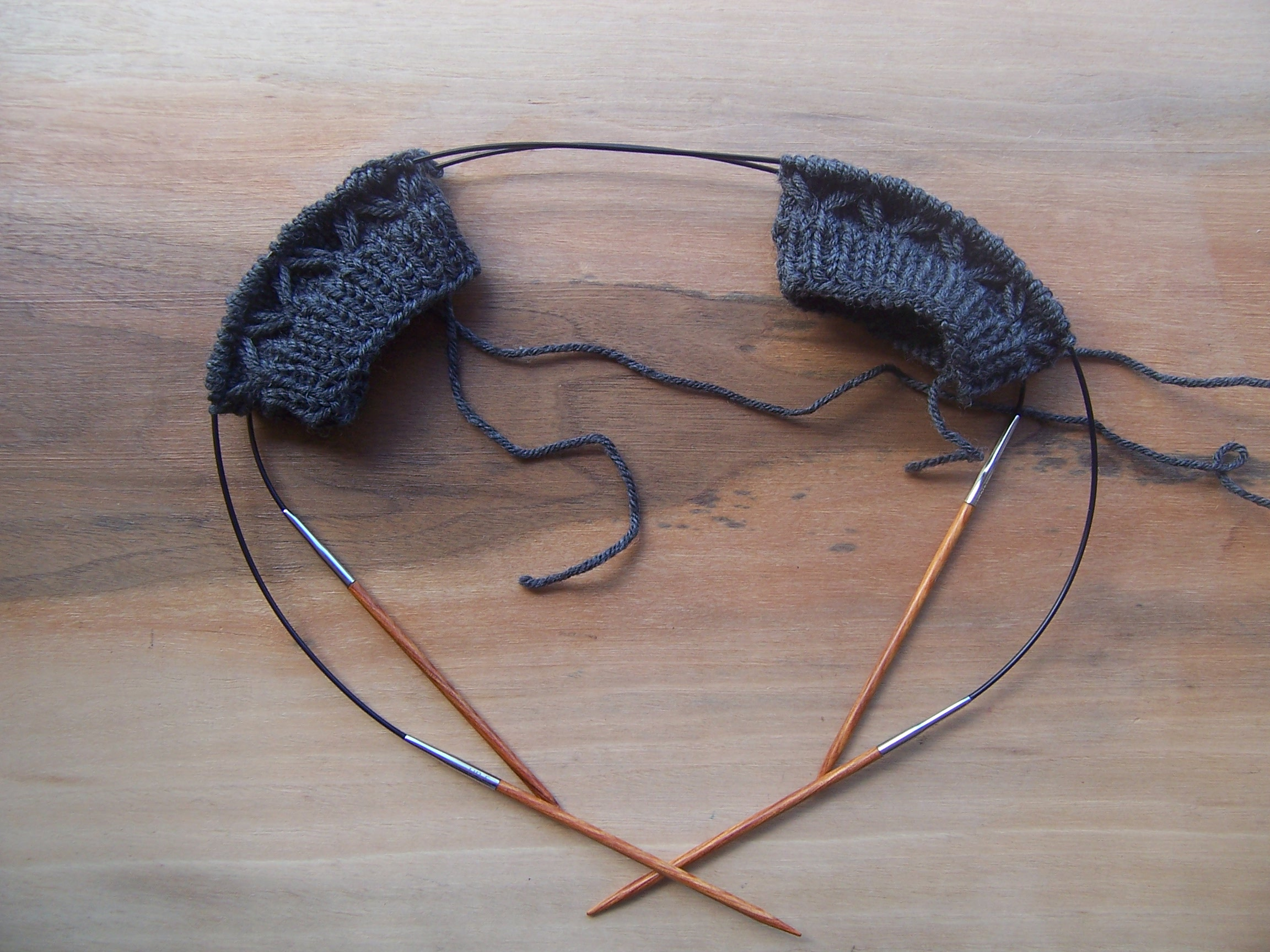Knitting Socks 2-at-a-time on Circular Needles – and a Surprise Too ...