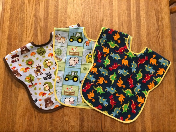 Easy DIY Bibs for Your Toddler